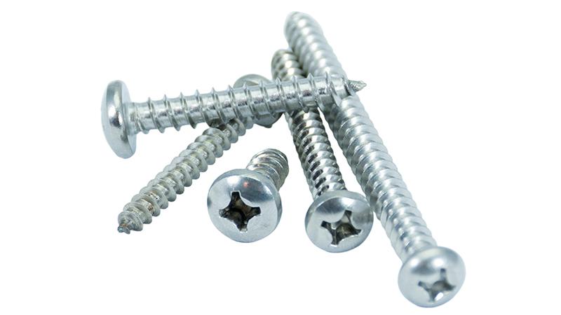 Tornillería carpintería de aluminio
