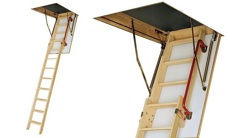 Escalera de tejado