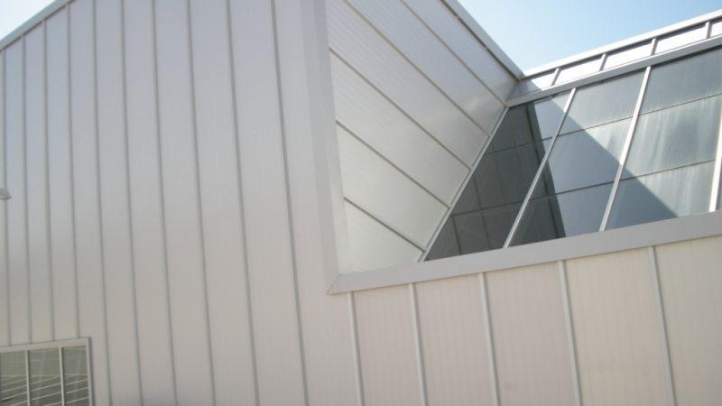 Panel de fachada y frigorífico